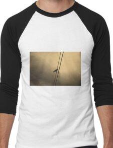 Wire Men's Baseball ¾ T-Shirt