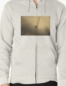 Wire Zipped Hoodie