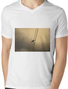 Wire Mens V-Neck T-Shirt
