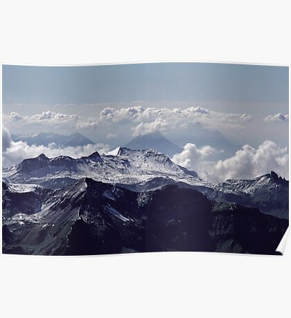 Heavenly view, Bernese Alps Poster