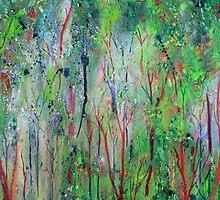 Eucalyptus Dreaming I by Kathie Nichols
