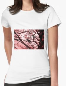 Wait Womens Fitted T-Shirt