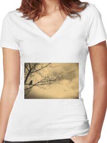 Balance Women's Fitted V-Neck T-Shirt