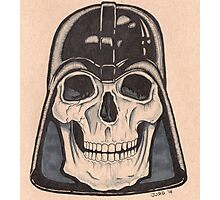 Death Vader Photographic Print