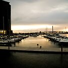 Docklands Sunset by aditmawar