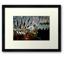 Crystal Booze Persuasion  Framed Print