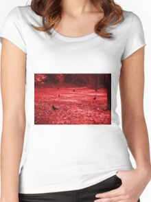 Secret garden Women's Fitted Scoop T-Shirt