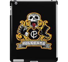 Polecats Patch Distressed iPad Case/Skin