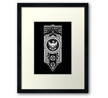 Night's Watch Framed Print