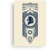 Dothraki Canvas Print