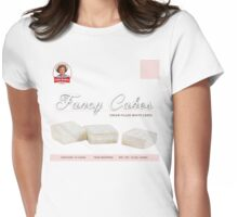 fancy cakes t Womens Fitted T-Shirt