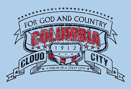 Columbia City Distressed by Olipop