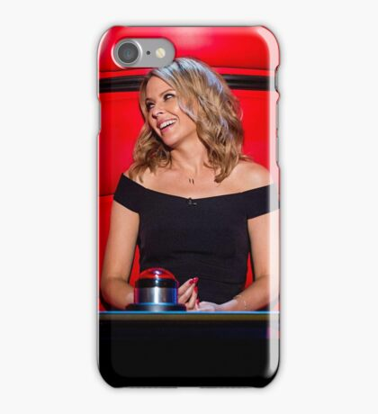 The Voice Of Kylie iPhone Case/Skin