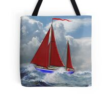 S/Y Magali, My Cutter Rigged Ketch - all products Tote Bag