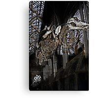 flying skeletons Canvas Print