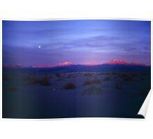 Atacama sunset Poster