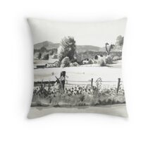 In the Valley of Brigadoon Throw Pillow