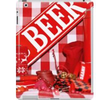 Red Gingham Photography iPad Case/Skin
