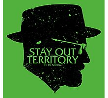 Stay Out of my Territory Photographic Print