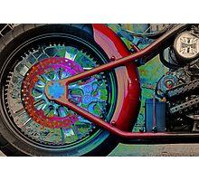 OUTCASTCYCLES.COM  Photographic Print