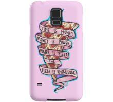 Pizza is Knowledge CutOut Samsung Galaxy Case/Skin