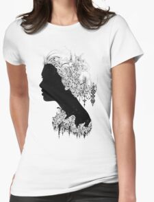 Where is my mind Womens Fitted T-Shirt