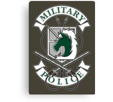 Military Police Canvas Print