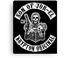 Son of Jor-El Canvas Print