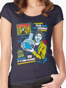 Pinkman's World Women's Fitted Scoop T-Shirt