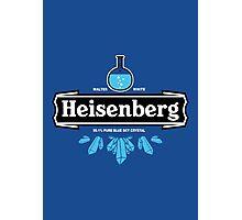 Heisenberg Blue Sky Crystal Photographic Print