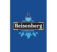 Heisenberg Blue Sky Crystal Photographic Print