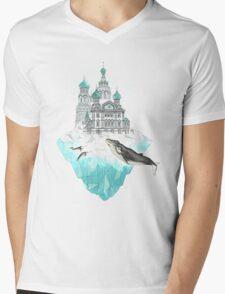St. Peter's Iceburg Mens V-Neck T-Shirt