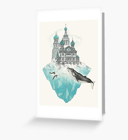 St. Peter's Iceburg Greeting Card