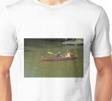 Rowing In Boat 18, Stratford-upon-Avon Unisex T-Shirt