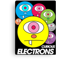 Curious Electrons Canvas Print