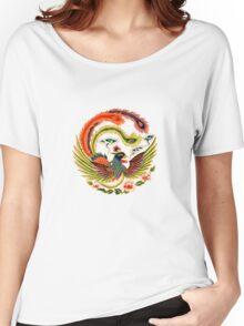 Asian Art Chinese Phoenix Women's Relaxed Fit T-Shirt