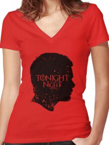 Tonight is the Night Women's Fitted V-Neck T-Shirt