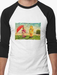 Lilliput & Venus Men's Baseball ¾ T-Shirt