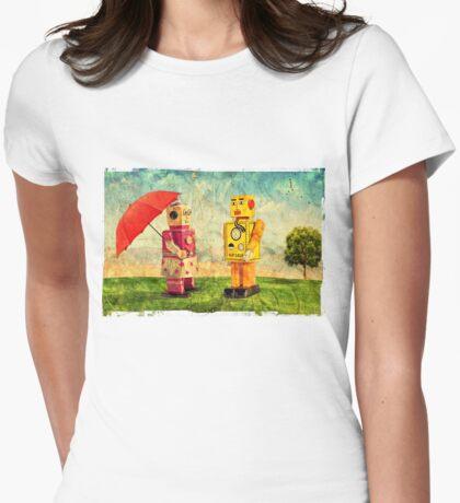 Lilliput & Venus Womens Fitted T-Shirt