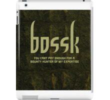Bossk iPad Case/Skin