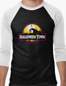 Halloween Town Men's Baseball ¾ T-Shirt
