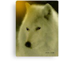 WOLF ~ GENTLE SPIRIT Canvas Print