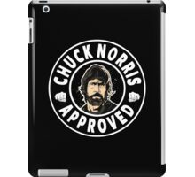Chuck Norris Approved iPad Case/Skin