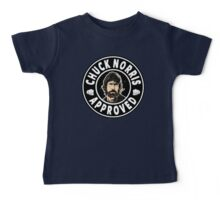 Chuck Norris Approved Baby Tee