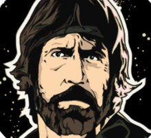 Chuck Norris Approved Sticker