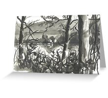 Through the Underbrush Greeting Card