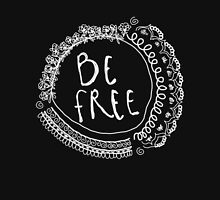 Be Free Graphic Inverted T-Shirt