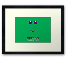 Greedo - Star Wars Framed Print