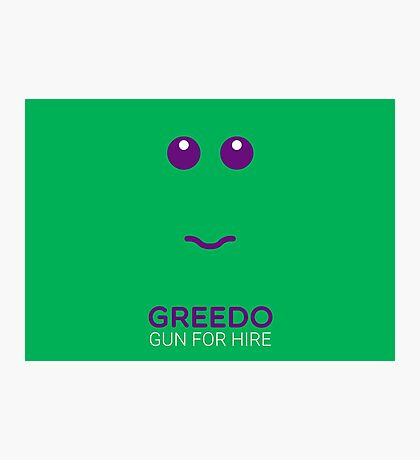 Greedo - Star Wars Photographic Print