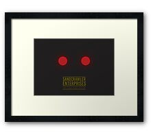 Sandcrawler Enterprises - Jawa - Star Wars Framed Print